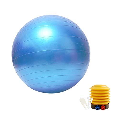 Rich-home Gymnastikball, Yoga Ball 55cm/65cm/75cm mit Pumpe für Physiotherapie Sport Schwangerschaft Pilates Yoga - Rich Pumpe