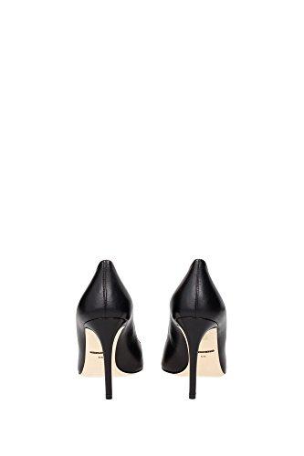 CD0039A141980999 Dolce&Gabbana Talon Femme Cuir Noir Noir