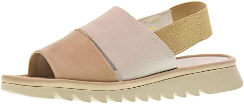 The FLEXX Sandalias de Mujer Zapatos B222_27 Onda DE Arena/Blanco