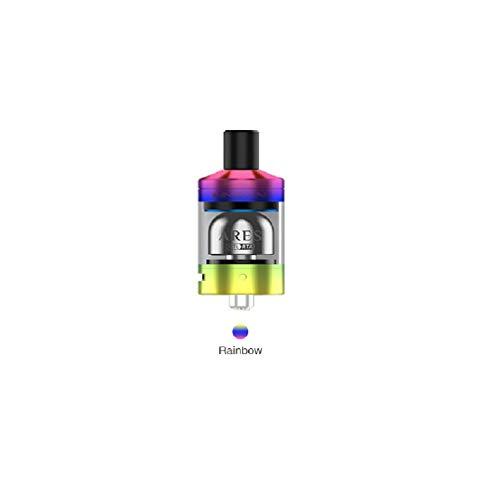 Innokin Ares RTA Tank Atomizzatore (Serbatoio rigenerabile) 2ml MTL Clearomizer (Arcobaleno) No nicotina o tabacco