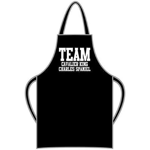 Team Cavalier King Charles Spaniel–Grembiule Regalo e messaggio regalo disponibile