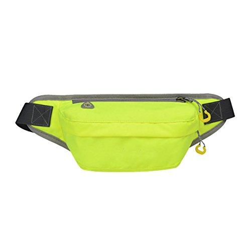 Outdoor Sport Fitness Multifunktions-Taschen Mehrfarbig Green