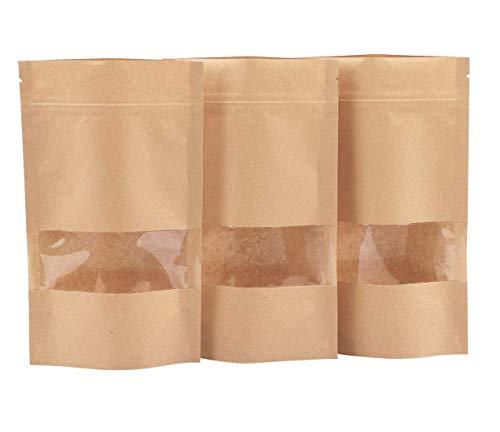 Dproptel - Bolsas papel kraft impermeables ventana