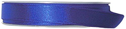 P & B Hohe Qualität Double Face Satinband, Polyester, blau klein, 15mm x 25m -