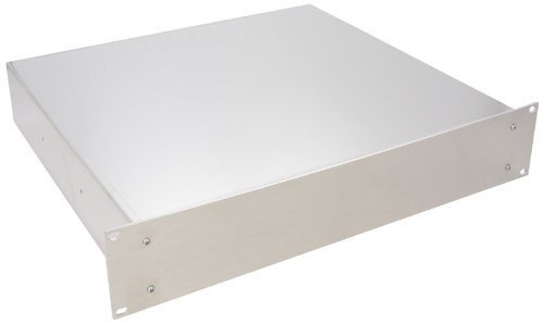 Bud Industries Rack (BUD Industries CH-14404 Aluminum Small Rack Mount Chassis, 17