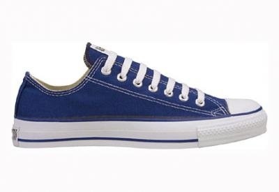 Converse – Chuck - Sneakers - Blanc Navy