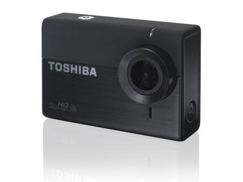 Toshiba pa5150e-1c0k - camileo x-sports, action camera, 12 megapixel, wifi, hd, colore: nero