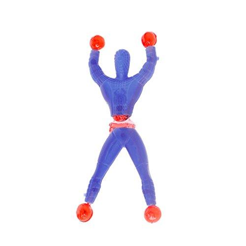 ic Spider Man Spaß Stretchy Kinder Bildung Spielzeug Wand Klettern Super Hero Abbildung Kindertag Geschenk Party Favors ()