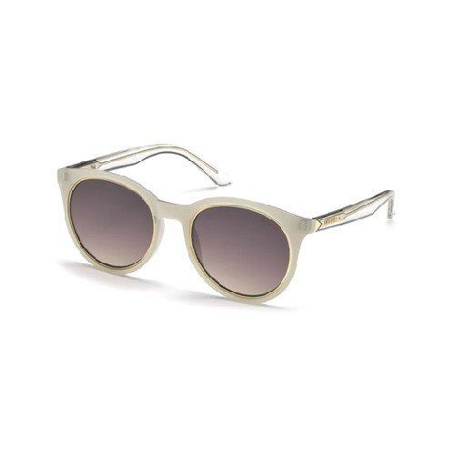 Guess Unisex-Erwachsene GU7466 24G 53 Sonnenbrille, Weiß (Bianco),