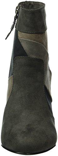 s.Oliver Damen 25325 Kurzschaft Stiefel, Grau (Grey Comb 201), 40 EU -