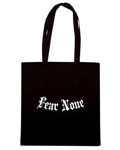 T-Shirtshock - Borsa Shopping FUN0505 afffearnone black Nero