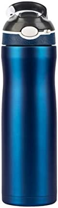 Water bottle stainless Steel, Vacuum-Insulated 600 ml-BELLAVUE satinless water bottles keeps water hot and col