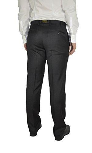 Michaelax-Fashion-Trade - Pantalon de costume - Manches Longues - Homme Noir - Noir