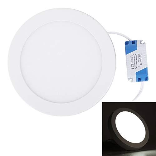 Draussen 12W Indoor Warm White LED Round Panel Licht, Lichtstrom: 860lm, Durchmesser: 17.5cm Werkzeug (Artikelnummer : S-led-5554wl)