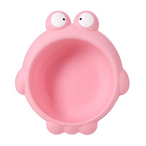 Homyl Baby Waschschale, Waschschüssel, Waschwanne, Seifenablage - Frosch rosa