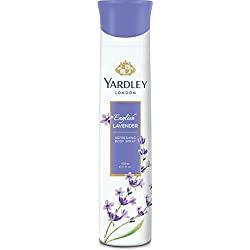 Yardley London - English Lavender Refreshing Deo for Women, 150ml