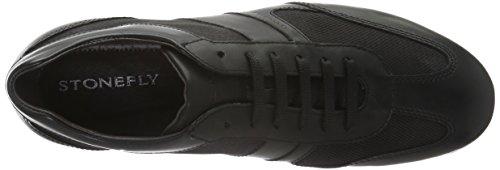 Stonefly Lucky 10, Sneakers Homme Noir (Nero/Black 000)