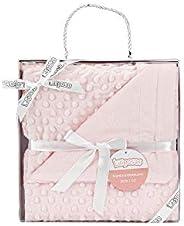 Manta para bebés, 0.80 x 1.10 m Manta para recién Nacidos Mantitas para Bebes Suave y Confortable Cálida niña