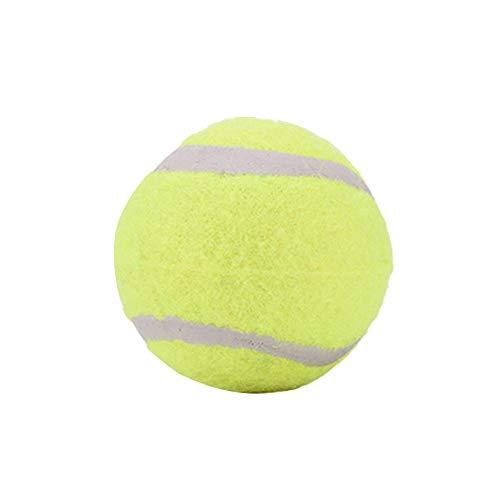 Schildeng Mangiatoia per Cani Portatile,Pet Ball Giocattolo Tennis Tennis Cibo Ricompensa Macchina Trattamento Interattivo Alimentatore Lento Giocattolo Adatto per Cani