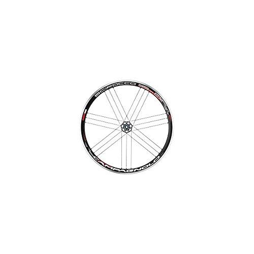 Campagnolo Scirocco 35CX Rueda Trasera De Bicicleta, color negro