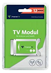 freenet TV CI+ Modul inkl. 12 Monate freenet für Antenne (DVB-T2 HD) & Satellit (DVB-S)