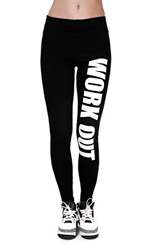 Trvppy Leggings Gym Workout Sports Wear Hose Yoga Pants