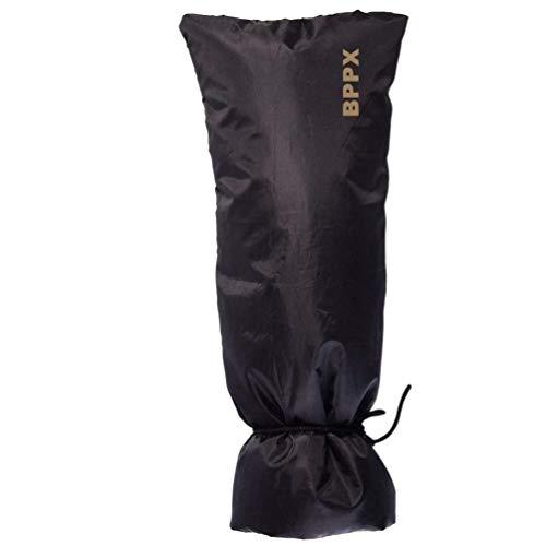 JuanFU Outdoor Wasserhahn Cover für Winter, groß, 50,8x 21,6cm, schwarz Thinsulate-slip