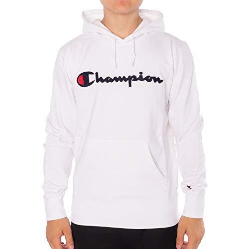 Champion Herren Hoodie Hooded Sweatshirt, Größe:M, Farben:wht (Champion Pullover)