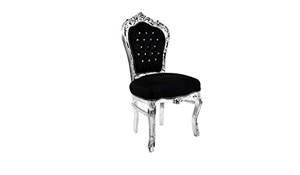 Baroque Structure en Chaise Bois Style Feuille Italux HYDIWE29
