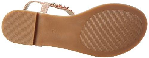 Buffalo Shoes 14bu0155-6 Pu, Sandali a Punta Aperta Donna Multicolore (ROSE 23)