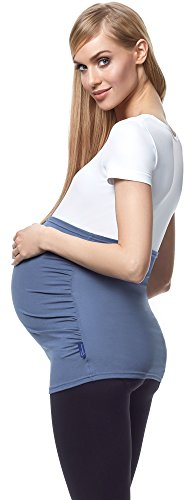 Be Mammy Femme Bandeau de Maternité 04 Jeans