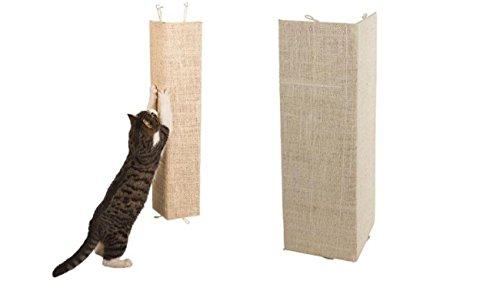 2 Stück Kratzbrett 28 x 80 cm für Zimmerecken Eckkratzbrett Katzen Kratzecke Sisalbrett Kratzmatte Kratzschutz Eckenschutz Sisal-Verkleidung Zimmerecken Sisalmatte