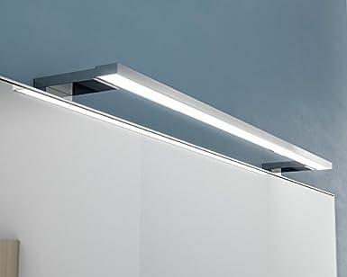 Kalb Lampe LED chromée pour miroir de salle de bain 230 V 12 Watts ...