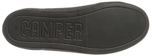 Camper Ladies Hoops Sneaker, Bianco, 39 Eu Nero (nero 1)