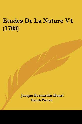 Etudes de La Nature V4 (1788)