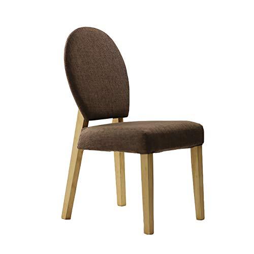 Esszimmerstühle YXX Festes Holz, das seitlich gepolsterten Stuhl, modernes...