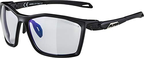Alpina Erwachsene Granby S MM Sportbrille, black matt, One Size