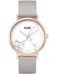 Cluse Reloj Digital de Cuarzo Unisex con Correa de Cuero – CL40005