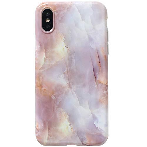UMCCC Handy Shell iPhone 7 8 Plus Marmor All-Inclusive Silikon Anti-Herbst-Schutzhülle,8Plus (Iphone 6 Plus Case Louis Vuitton)