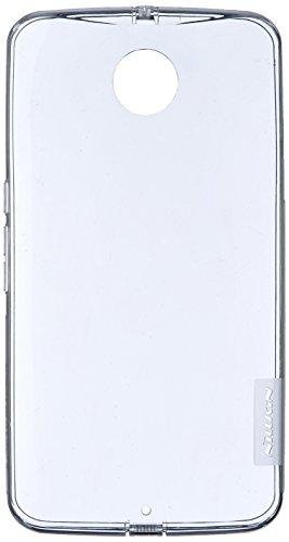 Nillkin Nature - Rückwertiges Schongehäuse, rutschfest aus TPU-Gel für Motorola Nexus 6 (Google) - Durchsichtig