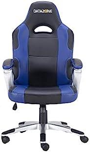 كرسي قيمنق داتا زون بتصميم مريح بلون اسود- زرق
