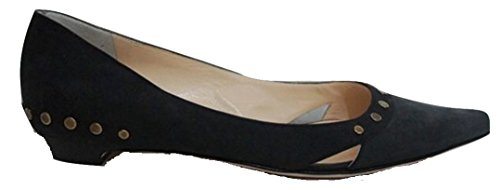 Jimmy Choo , Damen Ballerinas Schwarz Jet Black 36 (4 UK)