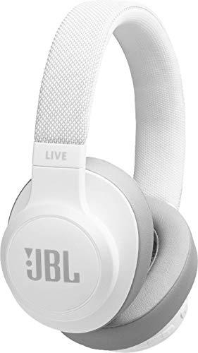 JBL LIVE 500BT kabellose Over-Ear Kopfhörer in Rot, Bluetooth Ohrhörer mit 30 Stunden Akkulaufzeit & Alexa-Integration, Musik hören, streamen und telefonieren unterwegs