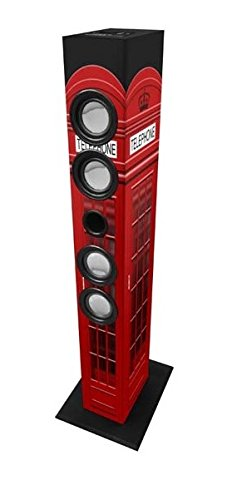 Majestic 115084_LN Sistema Audio Multimediale Bluetooth a Torre, Multicolore