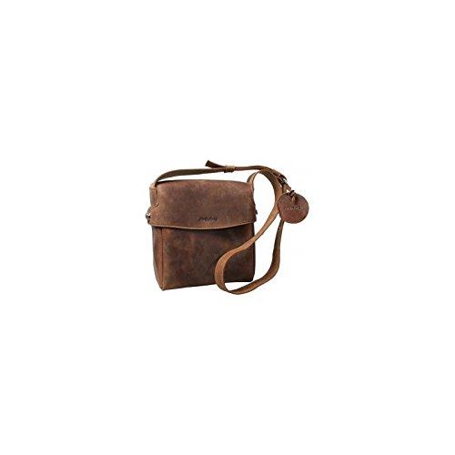 dothebag Raboison Sac bandoulière Toro cuir 21 cm braun nature