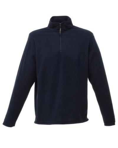 Regatta Herren 170 Series Fleece-Oberteil mit Reißverschluss bis zur Brust, Anti-Pilling Blau - Dark Navy