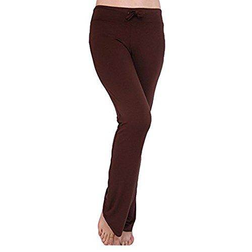 Frauen Sweatpants Normallack Sport-Hosen-weiche mittlere Taillen-beiläufige Hosen elastische Fitness-Yoga-Hosen mit Kordelzug modern und Mode
