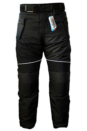 German Wear GW350T - Pantalones de Moto, Negro, 56 EU/2XL: Tamaño de...