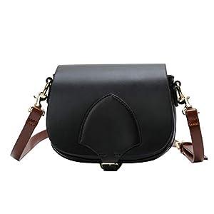 31geY8qoLuL. SS300  - Leathario Bolsos Hombro Bandolera Cuero Sintético Vintage Shoppers para Mujer Bolsa Moda de Mano Totes Escolar