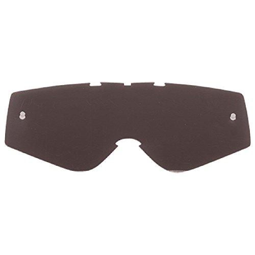 Polycarbonat-rad (O'Neal Ersatz Scheibe B-Zero Goggle Anti Beschlag Glas Polycarbonat Kratzfest MX Cross Brille, 6024SP-20, Farbe grau)